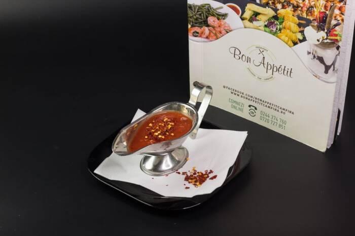 Sos de rosii picant Restaurant Bon Appetit Campina 2