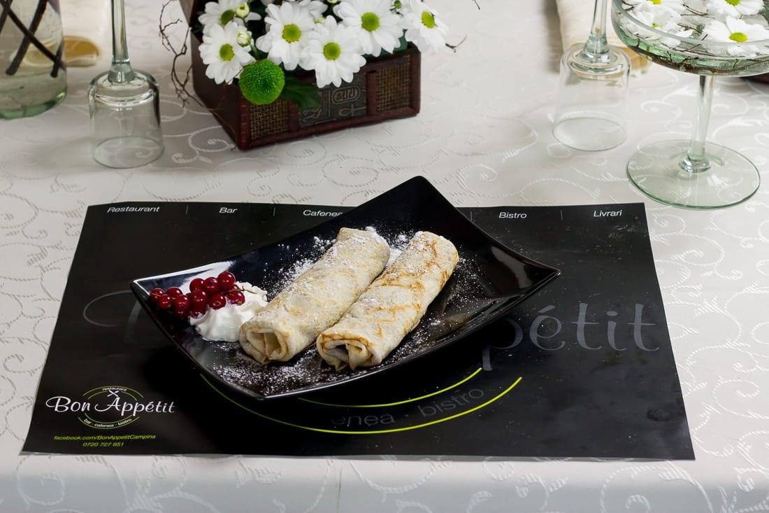 restaurant bon appetit campina clatite 1