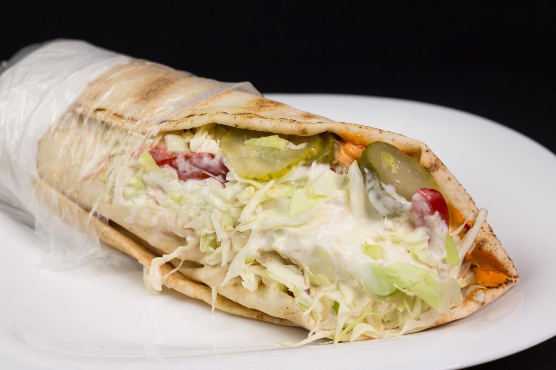 Shaorma vegetariana Restaurant Bon Appetit Campina 3